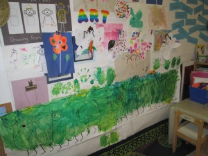 Art WALL, anything can go and grow on the wall.